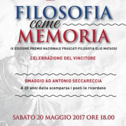 Premio Frascati Filosofia